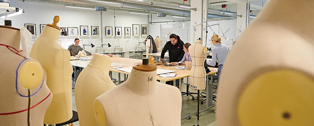 Der arbejdes i Fashion Lab